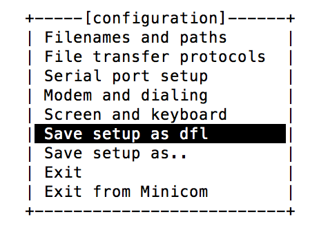 Setting Up a Mac with Minicom for an ELM32x OBD-II Device